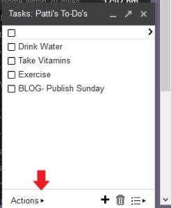 Gmail Task