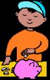 kid piggybankmoney