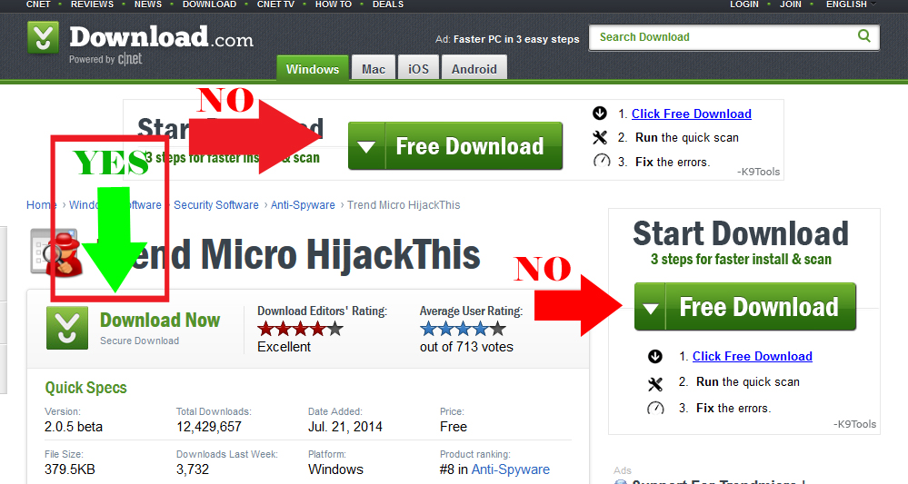 Hijack This - Download
