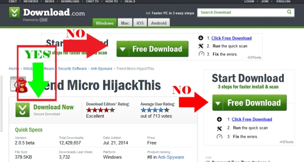 Hijack This - Download