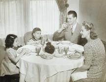 1950's Family Dinner