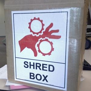 shred box
