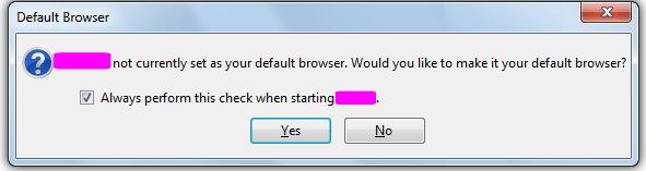 default browser check